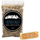 Sacred Eagle Herbal Smoking Blend with Unbleached Rolling Papers (1 oz Refill Bag)