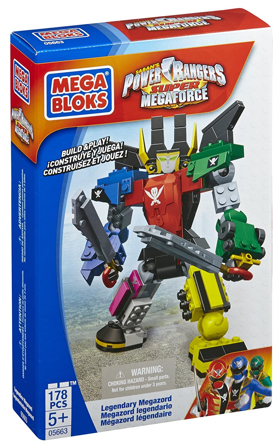 Mega Bloks Power Rangers Legendary Megazord
