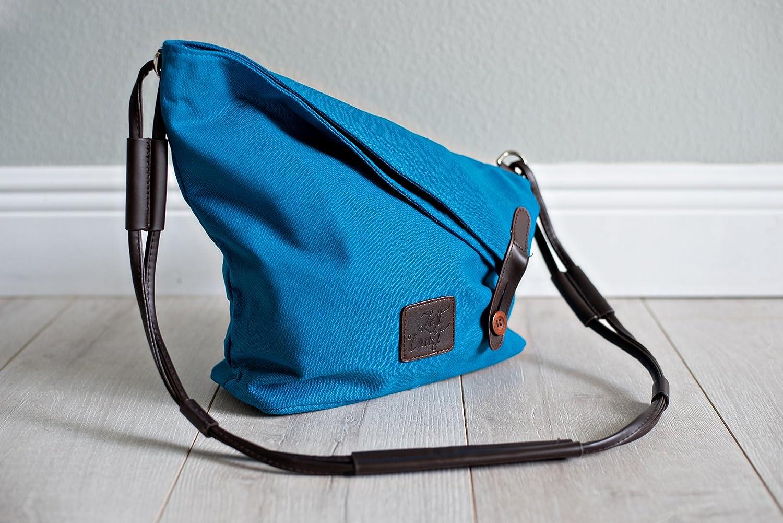 b2da218219b0c0 Hobo Tote Bag Canvas Crossbody Messenger Vegan Laptop Tablet Purse Beach  Handbag Luggage Carryall Gift Her Blue Red Navy White Free Shipping