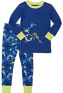 Kirkland Signature Boys 2-Piece Organic Cotton Pajama Set (5 a167e6cd6