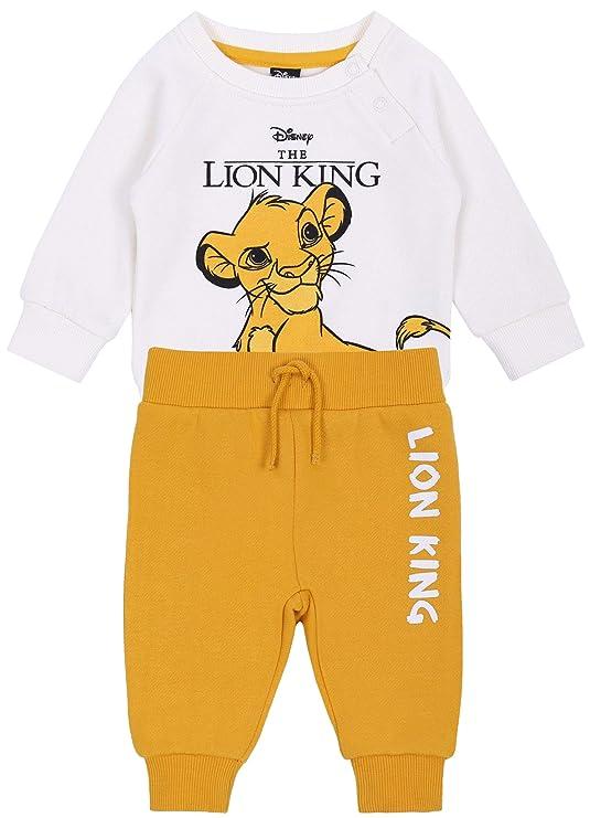 Chándal de bebé, Crema-Amarillo Simba Disney: Amazon.es: Ropa y ...