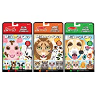 Deals on Melissa & Doug Make-A-Face Reusable Sticker Pad Bundle