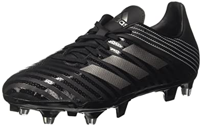 adidas Malice SG, Chaussures de Rugby Homme, Noir Core Night Met