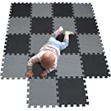 MQIAOHAM children puzzle mat play mat squares play mat tiles baby mats for floor puzzle mat soft play mats girl playmat carpe