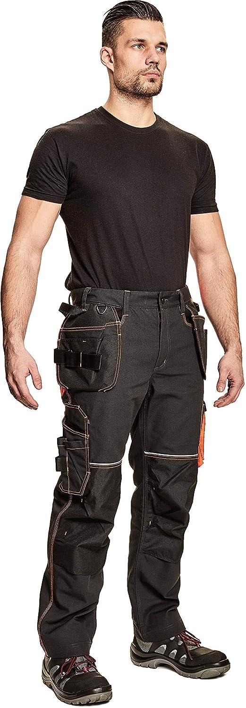 Dinozavr Knoxfield Pantalones De Trabajo Para Hombre Con Bolsillos Para Rodillera Y Bolsillos Multifuncionales Pantalones