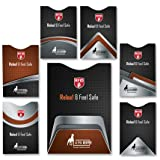 RFID Blocking Sleeve set include 6 x sleeves for