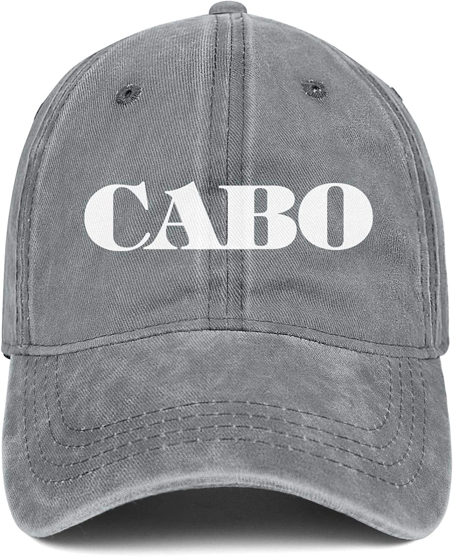 Trucker Hat Cabo-Yachts-Logo Snapback Men Womens Adjustable Denim Rock Caps