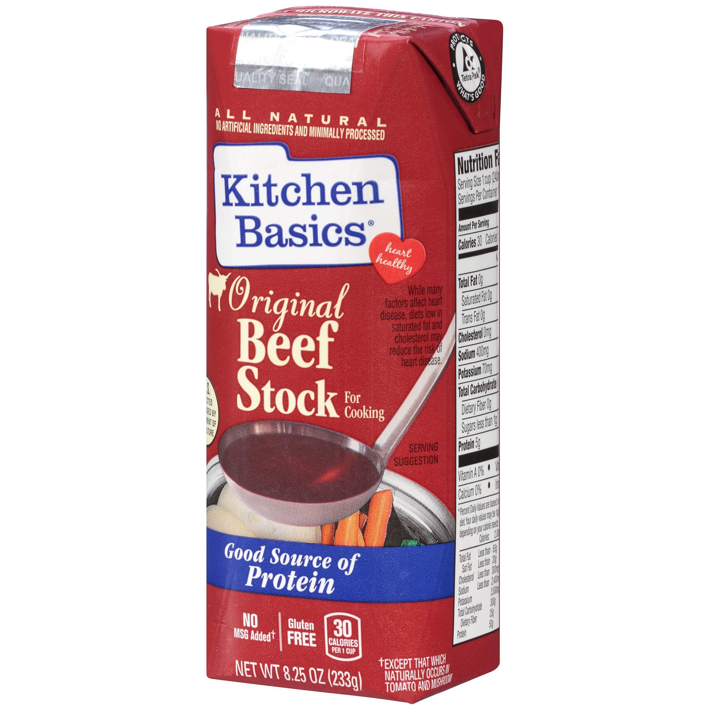 Kitchen Basics All Natural Original Beef Stock, 8.25 fl oz
