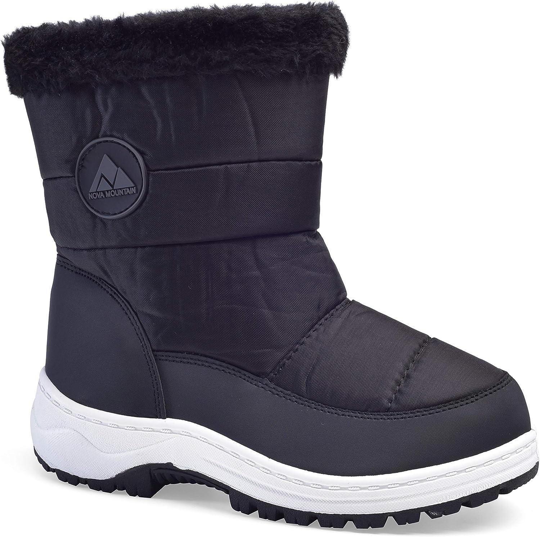Nova Toddler Boys and Girls Winter Snow Boots