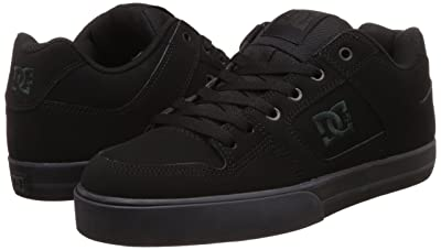 DC Mens Skate Black Pirate