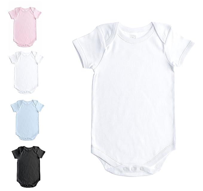 Amazon.com: Body para bebé de manga corta, de ...