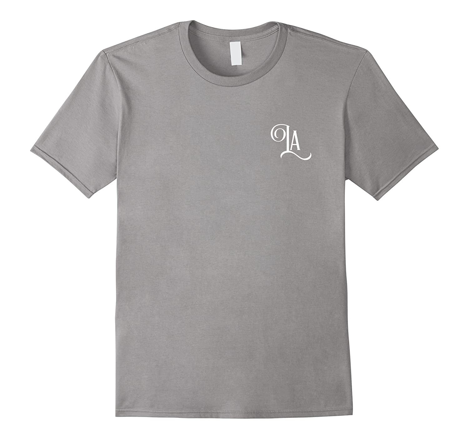 LA Los Angeles simple tee-T-Shirt