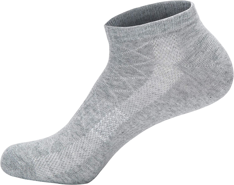 YOUCHAN Sneaker Socken Damen Herren 10 Paar Atmungsaktives Mesh Sportsocken Kurze Halbsocken Baumwollsocken