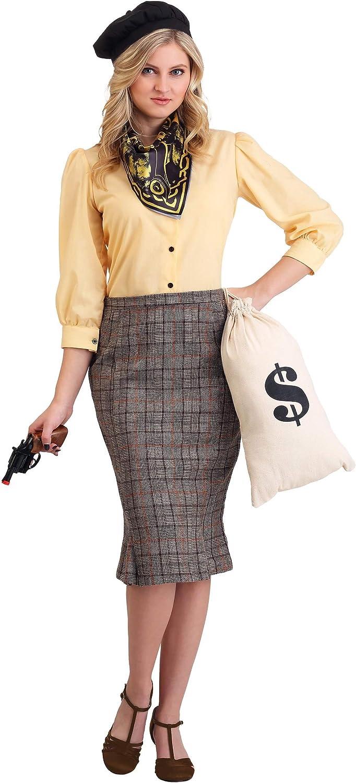 Bonnie The Bandit Womens Fancy Dress Costume Large: Amazon.es ...