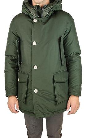 Woolrich - Chaqueta - para hombre verde militar Small ...