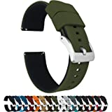 Barton Elite Silicone Watch Bands - Quick Release - Choose Color - 18mm