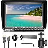 Neewer NW-760(C)カメラフィールドモニター 超薄7inch IPSスクリーン 1080PフルHD 1920x1200 4k入力HDMI ヒストグラム、フォーカスアシスト、露出オーバープロンプト DSLRカメラ適用(バッテリーは含まず)