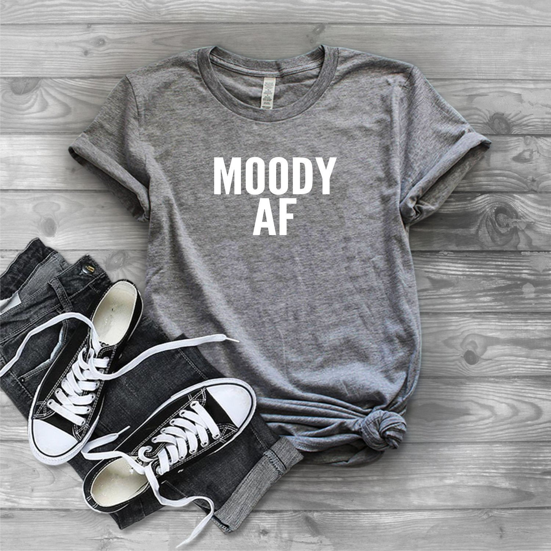 Moody AF Graphic Tee
