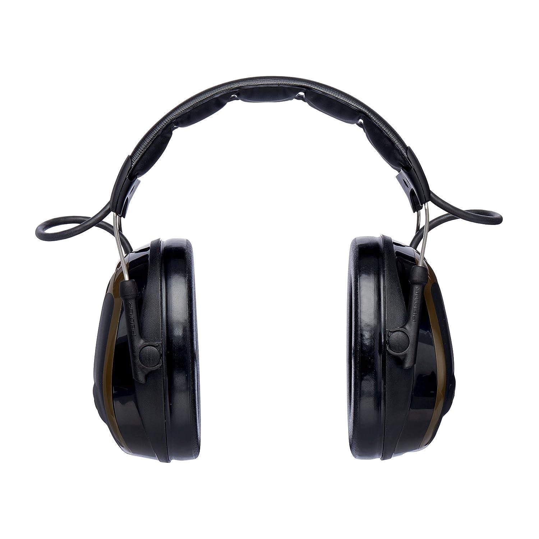 3M PELTOR ProTac Orejeras para cazadores, 26 dB, verdes, diadema, MT13H222A 26dB 12312