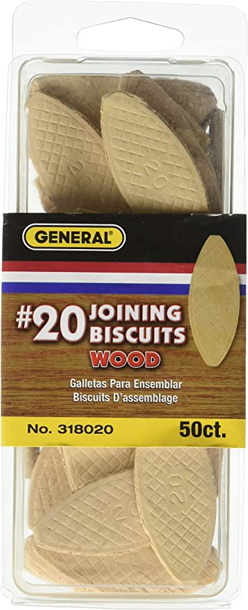 50 #20 wood biscuits woodworking