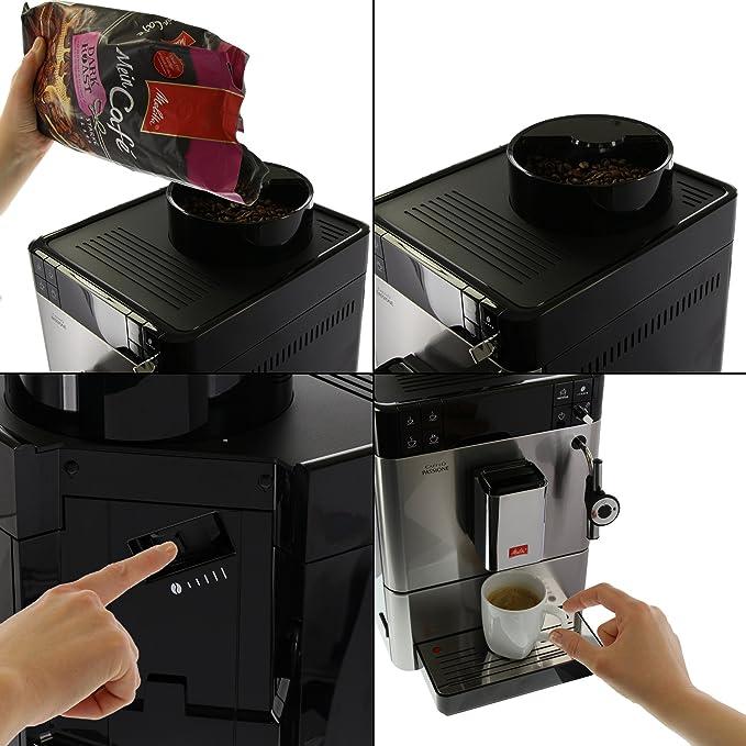 Melitta F 54/0-100 Aktions espacio completamente Ender Caffeo café ...