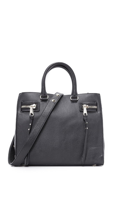 Rebecca Minkoff Women's Geneva Satchel Black One Size