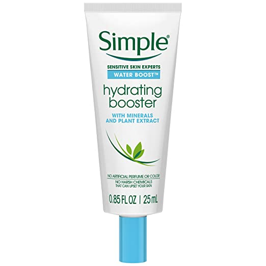 Simple Water Boost Hydrating Booster, Sensitive Skin 1 oz