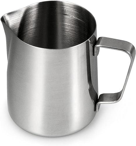 Milchkännchen Edelstahl Espresso Aufschäum Kännchen Milchkanne Milchgießer DE