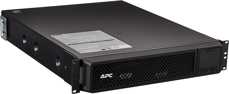 APC UPS 2200VA Smart-UPS Single Phase Online Uninterruptible Power Supply, Rack Mount UPS (SRT2200RMXLA),black