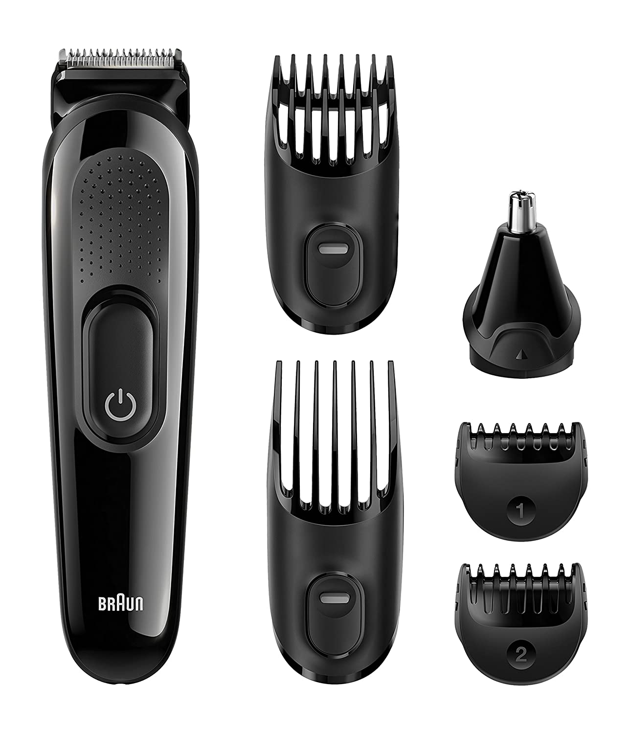 braun multi grooming kit mgk3020 6 in 1 beard hair trimmer for men face ebay. Black Bedroom Furniture Sets. Home Design Ideas