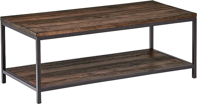 Amazon Com Stone Beam Larson Industrial Wood Metal Coffee