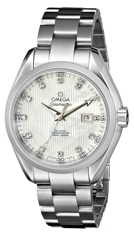オメガ OMEGA シーマスター アクアテラ コーアクシャル 自動巻 レディース 腕時計 23110342001001 B0088AKNEW