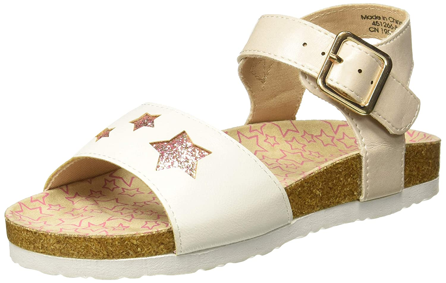 Mothercare Girl's White Outdoor Sandals