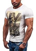 GLO STORY Hombre Camiseta Manga Corta 7431