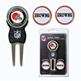 Team Golf NFL Cleveland Browns Divot Tool with 3