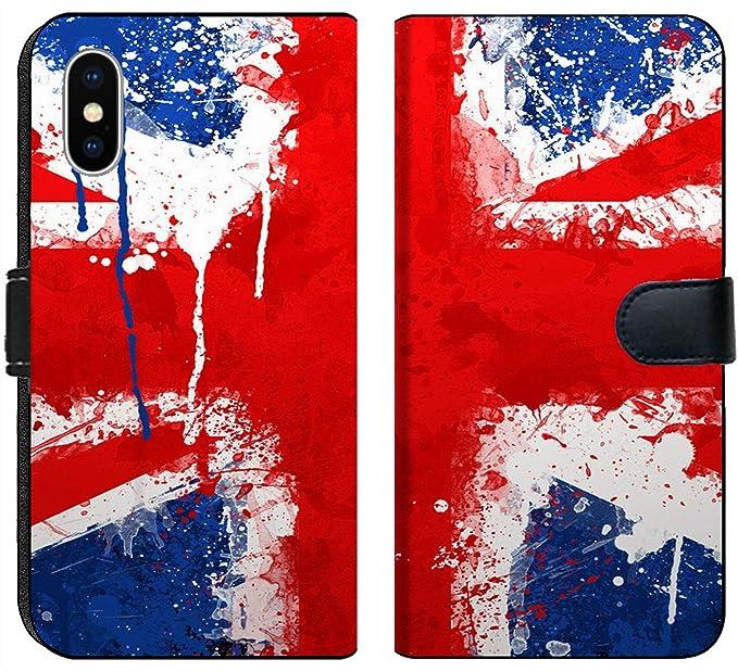 Amazon Com Apple Iphone X Flip Fabric Wallet Case Image Of