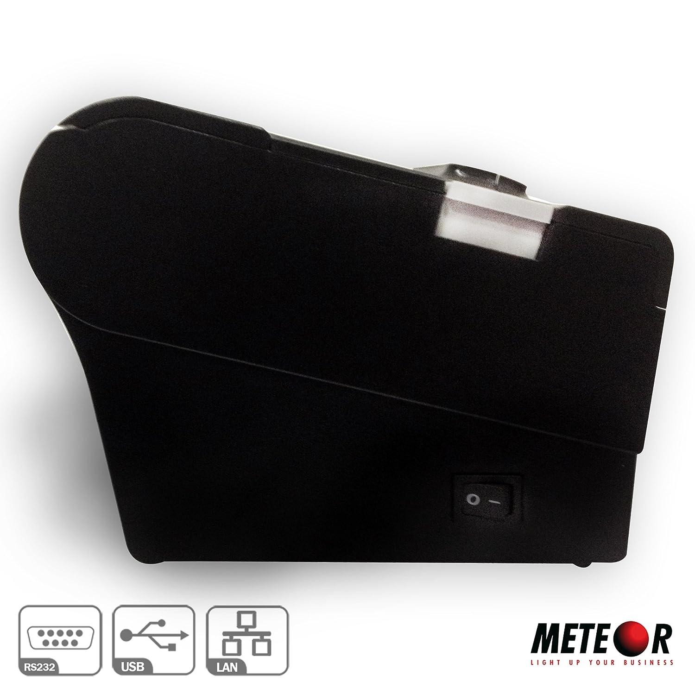 ETHERNET PER STAMPE RICEVUTE//COMANDE//SCOMMESSE STAMPANTE POS TERMICA METEOR SPRINT R 80MM PORTA USB RS232C TAGLIERINA