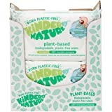 Kinder by Nature Plant Based Baby Wipes - 100% Biodegradable & Compostable, 672 Count (12 Packs of 56) - 99% Plant-Based Ingr