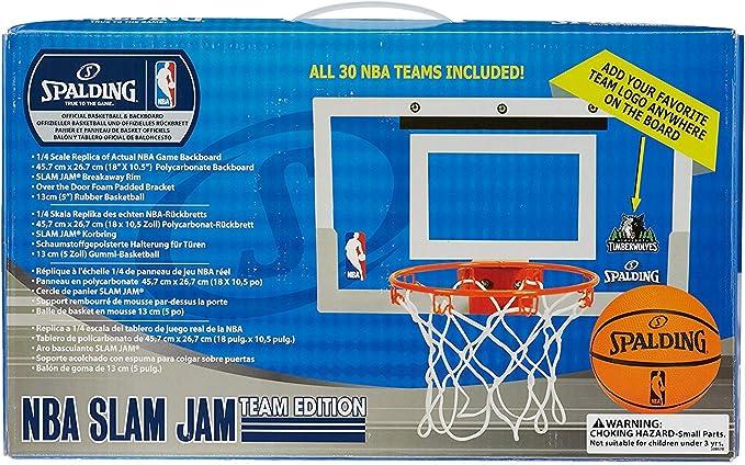 Spalding Slam Jam por la Puerta Set de Baloncesto portátil (with ...