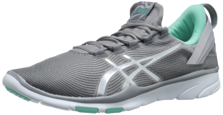 ASICS Women's Gel Fit Sana 2 Fitness Shoe, Frost/Lightning/Bermuda, 5.5 M US