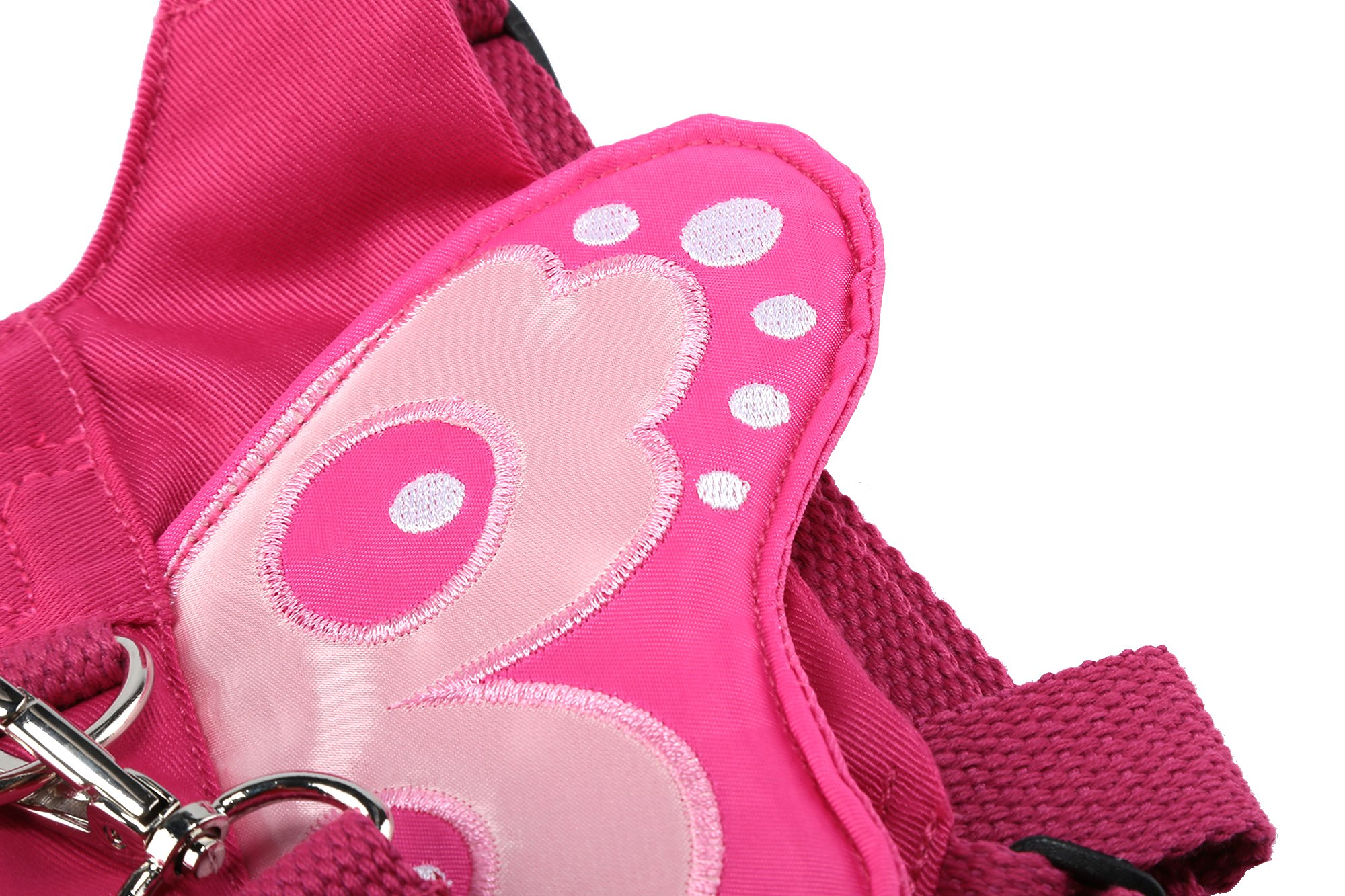 EPLAZA Baby Toddler Walking Safety Butterfly Belt Harness with Leash Child Kid Assistant Strap (a) by EPLAZA (Image #7)