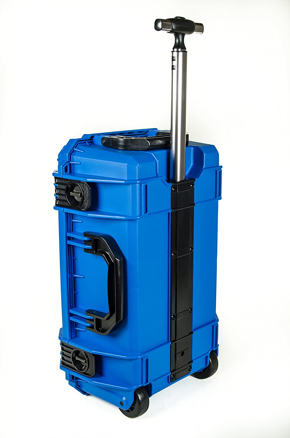 5163d242fe82 Blue SE830 FAA Carry on approved travel case with wheels. Case comes empty  - No foam.