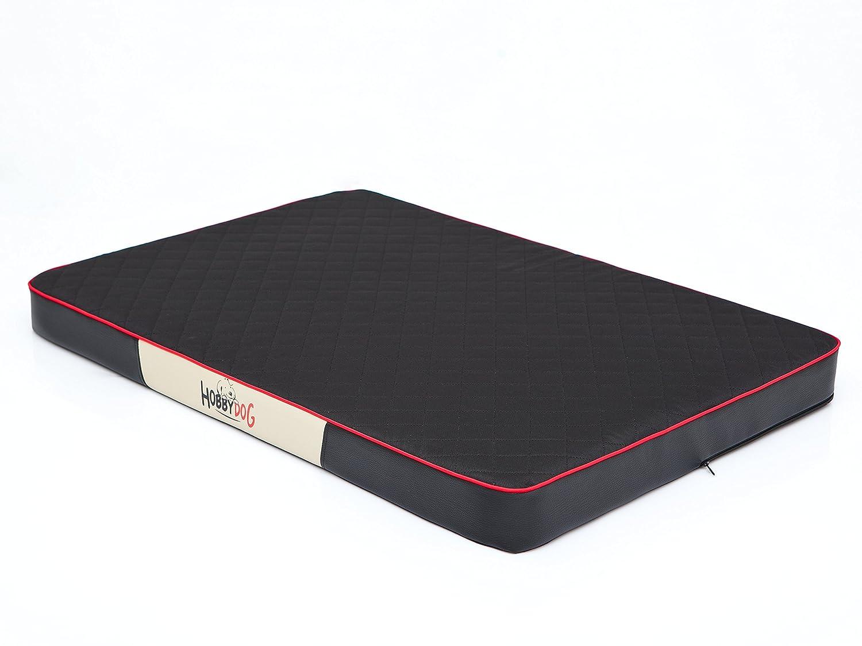 HOBBYDOG Premium Pet Mattress, X-Large, Black