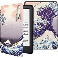 PUBAMALL Funda para Kindle Paperwhite (10.ª generación - Modelo de 2018), con la función Auto Sleep Wake, para Kindle…