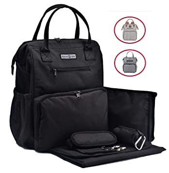 45ad954d40 Amazon.com   Sale!!! Rascal Gear Black Baby Diaper Bag Backpack ...