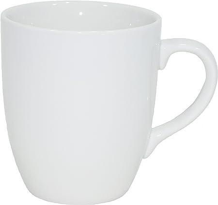 Set de 12 Tazas de Porcelana auténtica, de 300 ml, Ideales para ...
