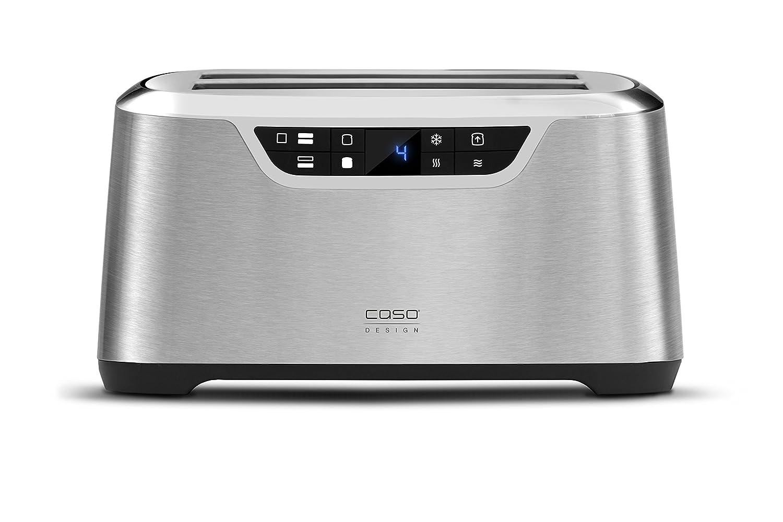Amazon.de: CASO NOVEA T4 Design Toaster für 4 Scheiben, mit ...
