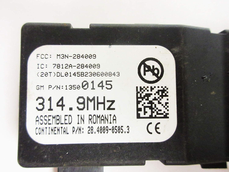 TPMS General Motors 13500145 Tire Pressure Monitoring System Receiver