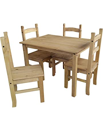 Mercers Furniture Corona Budget Dining Table And 4 Chairs