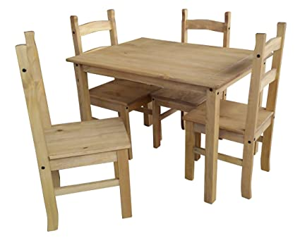 ec12154d2d7 Image Unavailable. Image not available for. Colour  Mercers Furniture  Corona Budget Dining Table ...